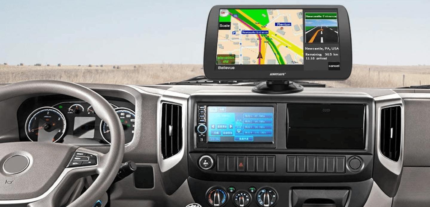 GPS Camping car